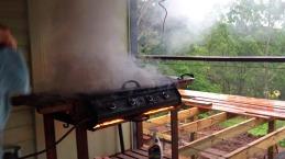 BBQ on Fire