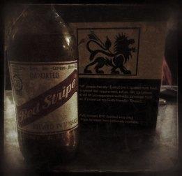 Red Stripe Beer von Jamaika
