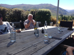 Ausblick Mt Difficulty Winery