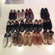 Schuhparade