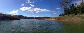 Ausblick auf Lake Baroon