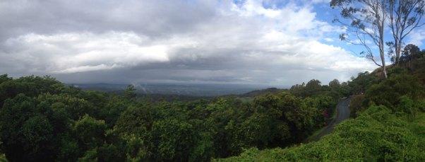 Ausblick auf die Sunshine Coast