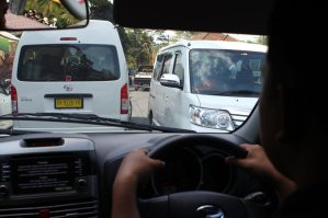 Der Verkehr ist shocking