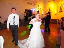 Erster Gast, welcher mit der Braut getanzt hat