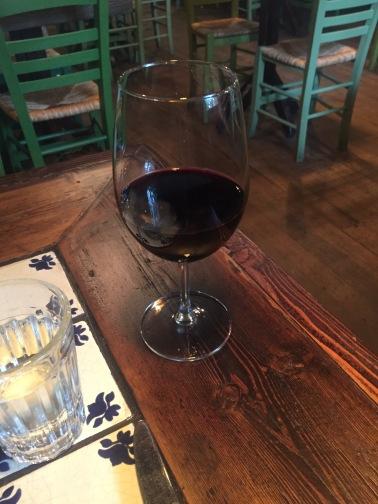 Mit Wein