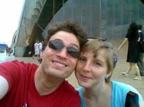 Sydney vor der Opera