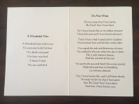 Will's Trauerkarte