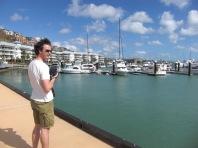 In der Marina