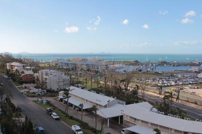 Ausblick von Hotel