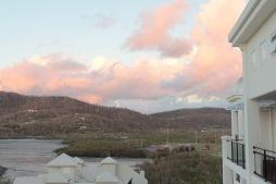 Sonnenuntergang letzter Tag