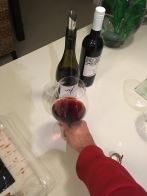 Ich koche mit Wein