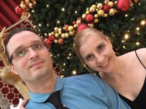 Fertig zur Weihnachtsfeier