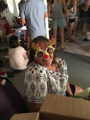 Sharon im Weihnachtsfest