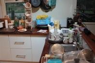 Küche im Urzustand