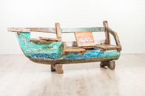 Old Boat Bench