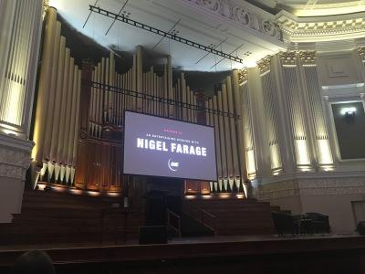 Nigel Farage Event Brisbane City Town Hall