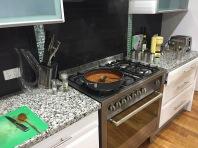 Neue Küche mit Gas