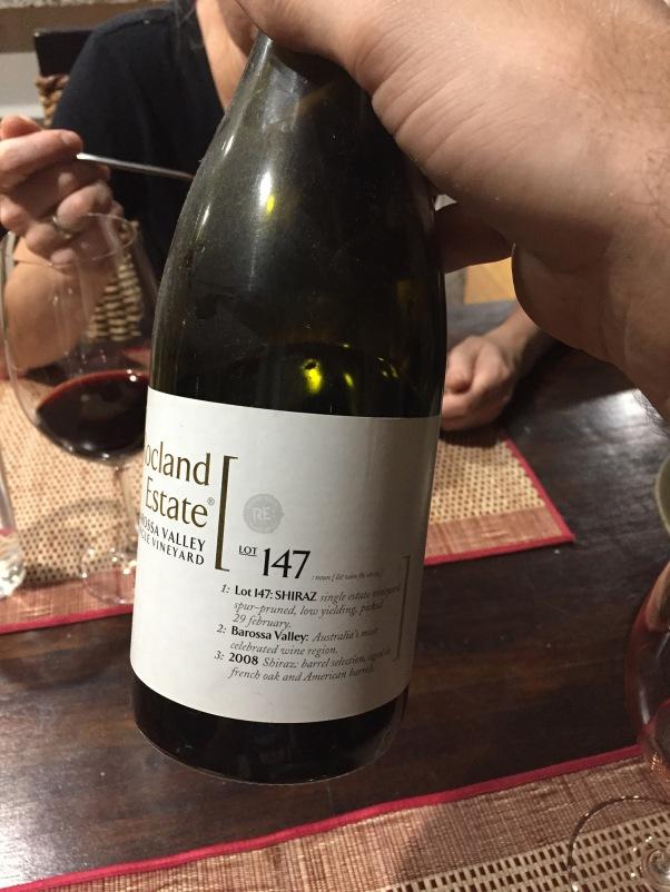 Gefeiert mit einem 10 Jahre alten Wein