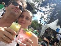 Wir mit Cocktails