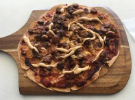 Pizza in der innotech Mensa