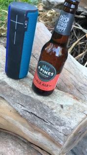 Bier und BoomBox