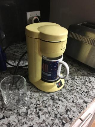 Genau wie die Kaffeemaschine
