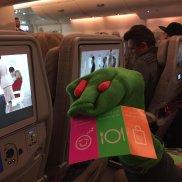 Spass im Flugzeug
