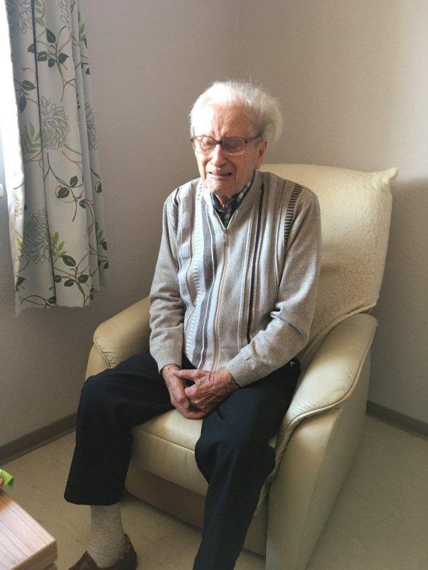 Mein Opa mit 92